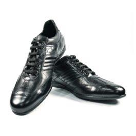 Muške cipele - Veliki brojevi - 3658-G - Crna