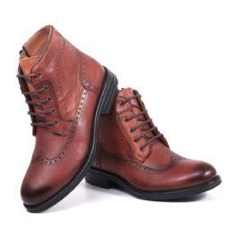 Muške cipele - Duboke - 5357-5 - Svetlo braon