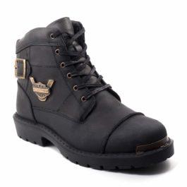 Muške cipele - Duboke - HP-01 - Crna