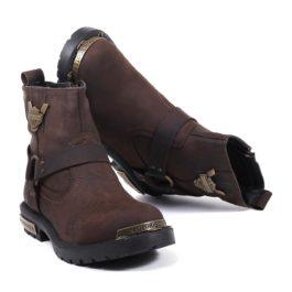 Muške cipele - Duboke - HP-02 - Braon