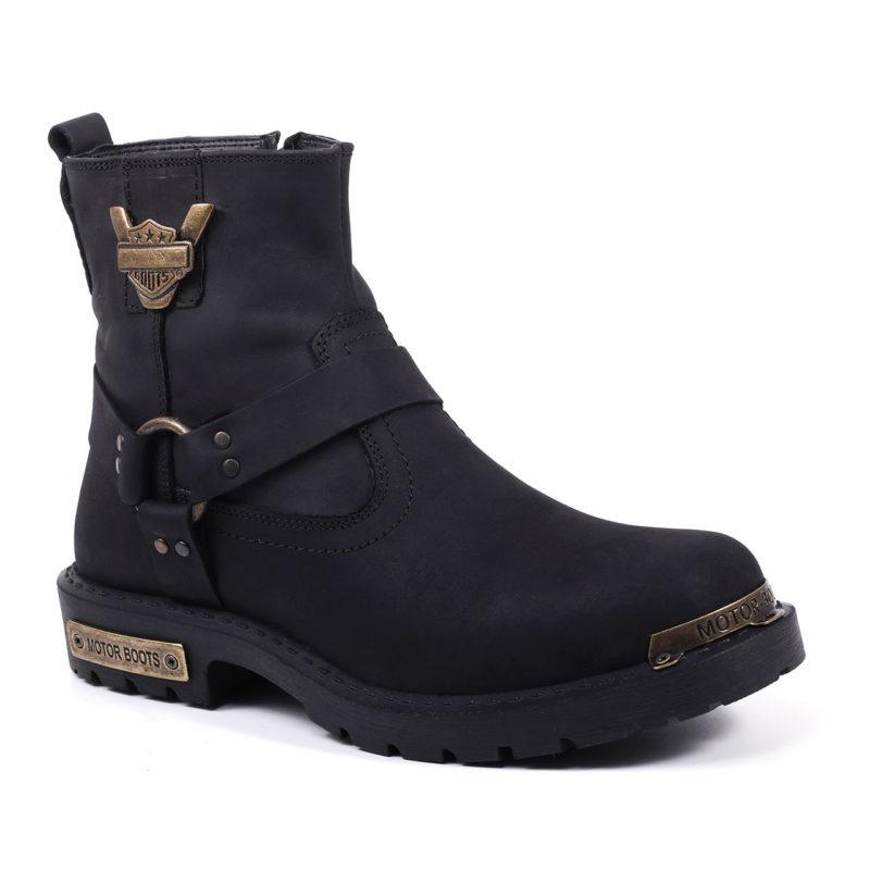 Muške cipele - Duboke - HP-02 - Crna