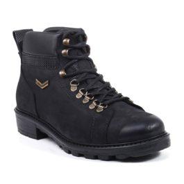 Muške cipele - Duboke - Mont - Crna