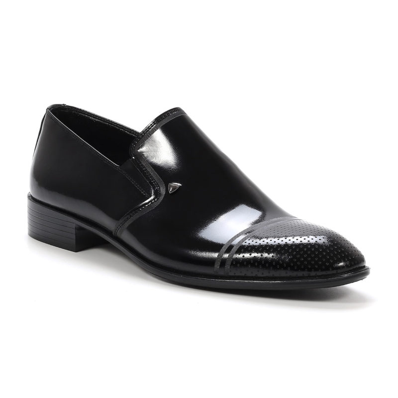 Muške cipele - Elegantne -21-Barker - Crna