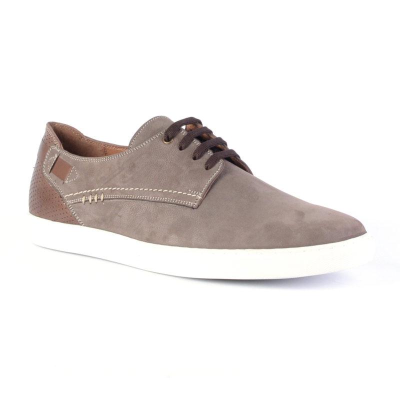 Muške cipele - Veliki brojevi - 3660-G - Svetlo braon