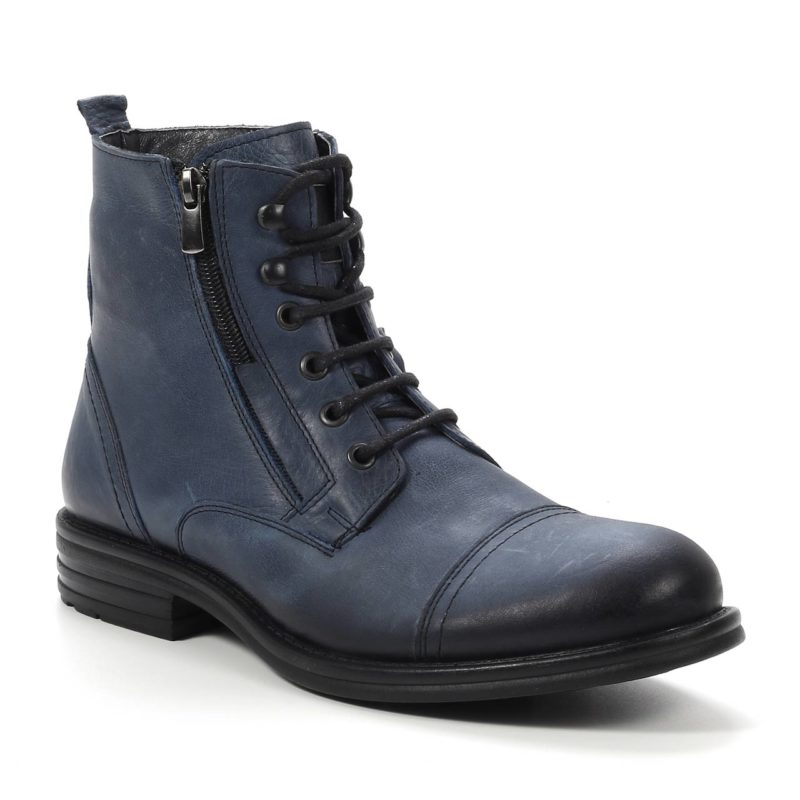 Muške cipele - Duboke - 5357-6 - Teget