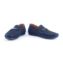 Muške cipele - Mokasine - 18732 - Teget