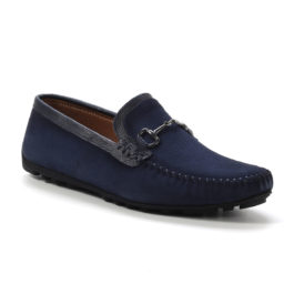Muške cipele - Mokasine - MK02-1 - Teget