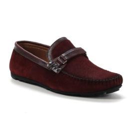 Muške cipele - Mokasine - MK02-2 - Bordo
