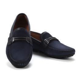 Muške cipele - Mokasine - MK02-2 - Teget