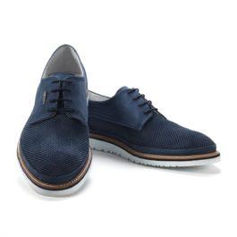 Muške cipele - Veliki brojevi - 18546 - Teget