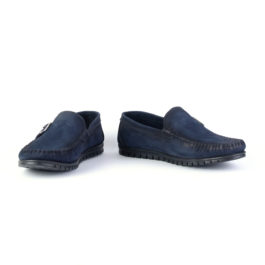 Muške cipele - Mokasine - MK01 - Teget