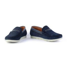 Muške cipele - Mokasine - MK03 - Teget