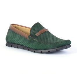 Muške cipele - Mokasine - MK03 - Zelena