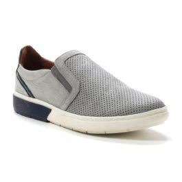 Muške cipele - Casual - 4123 - Siva sa tamno teget detaljima