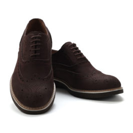 Muške cipele - Casual - Z-01-2- Tamno braon