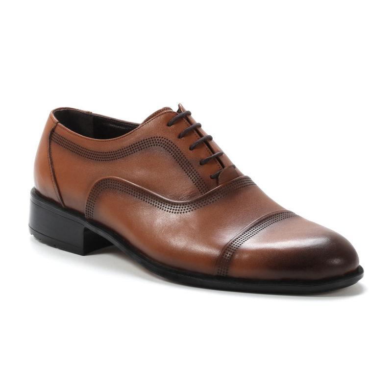 Muške cipele - Elegantne - 108-2 - Svetlo braon