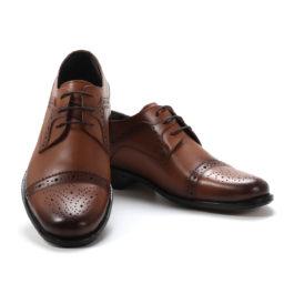 Muške cipele - Elegantne - 129 - Svetlo braon
