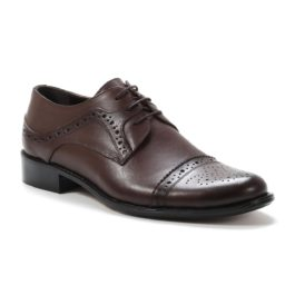 Muške cipele - Elegantne - K129 - Tamno braon
