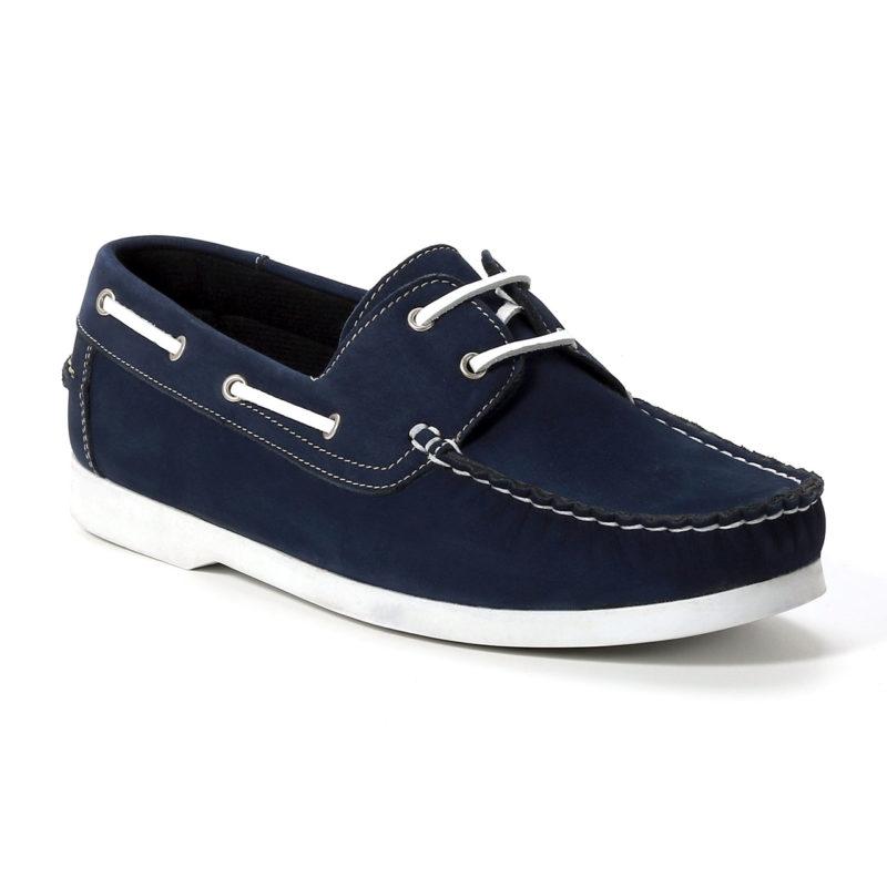 Muške cipele - Brodarice - 01 - Teget