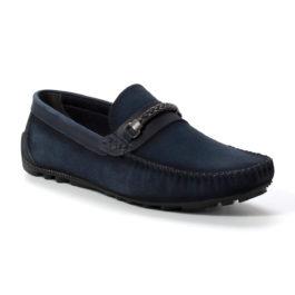 Muške cipele - Mokasine - MK04-2 - Teget