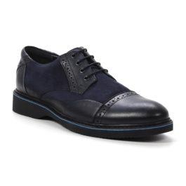 Muške cipele - Casual - 2128 - Tamno teget sa tamno teget detaljima