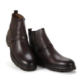 Muške cipele - Duboke - 2904 - Tamno braon