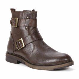 Muške cipele - Duboke - 523 - Tamno braon