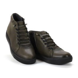 Muške cipele - Duboke - 6757-12 - Maslinasta