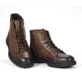 Muške cipele - Duboke - 905 - Tamno braon