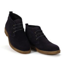 Muške cipele - Duboke - Astor - Tamno teget