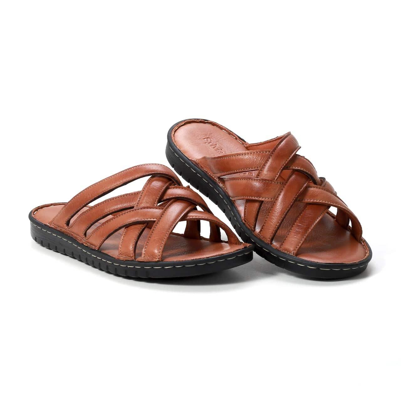 Muške papuče - 127 - Braon