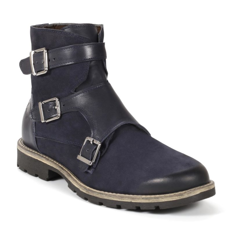 Muške cipele - Duboke - 782-2 - Tamno Teget