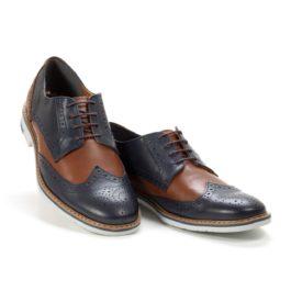 Muške cipele-Casual-570-2-Teget sa braon detaljima