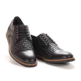 Muške cipele - Casual - 733P-1 - Crna