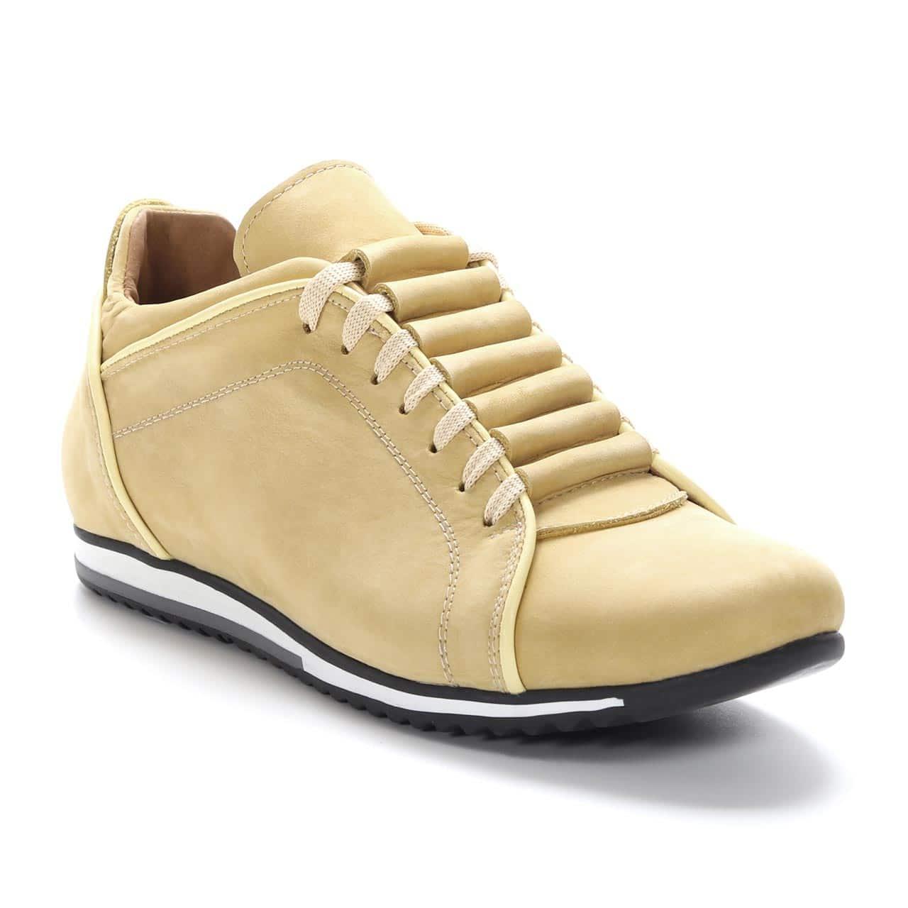 Kožna muška obuća - Muške cipele - Casual - 04-1 - Žuta