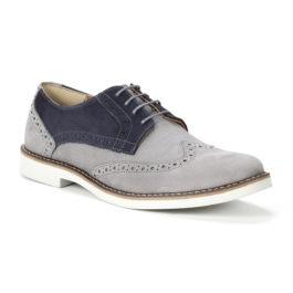 Muške cipele – Casual – 730-8 – Siva sa teget detaljima
