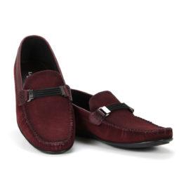 Muške cipele - Mokasine - MK02-4 - Bordo