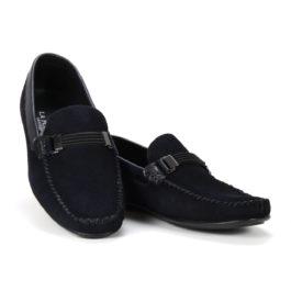 Muške cipele - Mokasine - MK02-4 - Teget