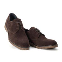 Muške cipele - Casual - 01 - Tamno braon
