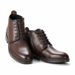 Muške cipele - Duboke - 101 - Tamno braon