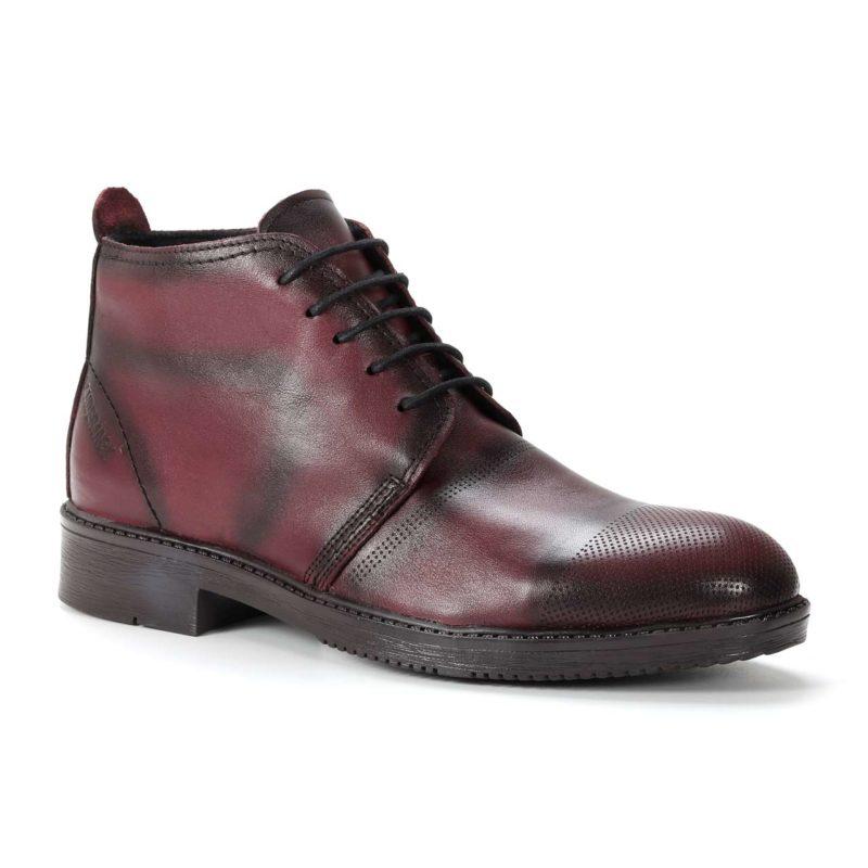 Muške cipele - Duboke - 102 - Bordo
