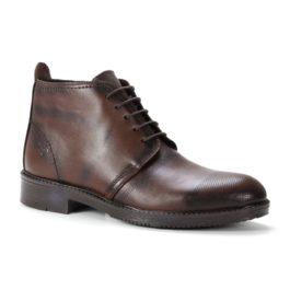 Muške cipele - Duboke - 102 - Tamno braon