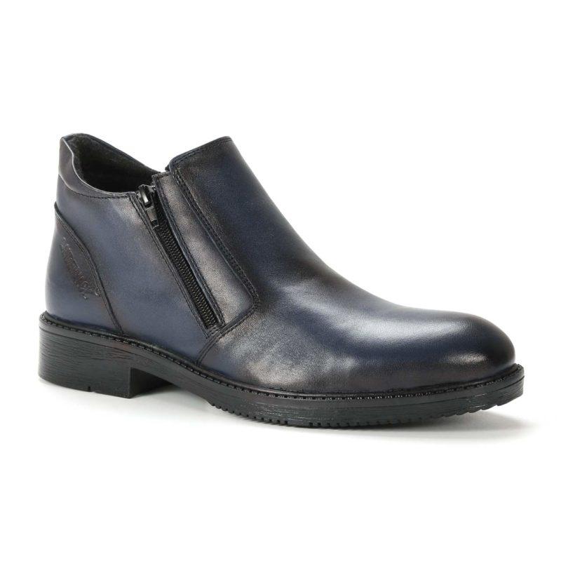 Muške cipele - Duboke - 1101 - Teget