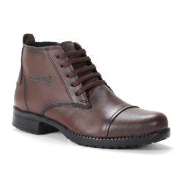 Muške cipele - Duboke - 24 - Tamno braon