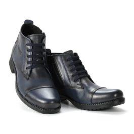 Muške cipele - Duboke - 24 - Teget