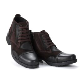 Muške cipele - Duboke - 24B - Tamno braon