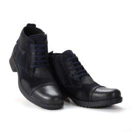 Muške cipele - Duboke - 24B - Tamno teget
