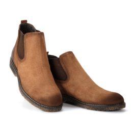 Muške cipele - Duboke - 549902 - Braon