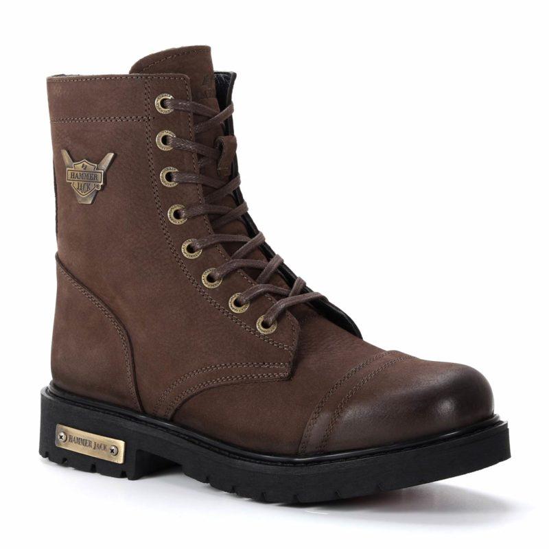 Muške cipele - Duboke - Hammer Jack 102 18505-M-N - Tamno braon