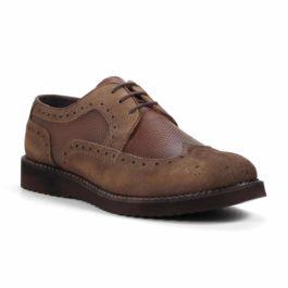 Muške cipele - Casual - Krok - Braon